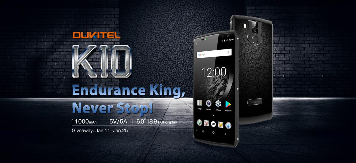 Дата продажи нового OUKITEL. Смартфона с самым емким аккумулятором Другие устройства  - dedd83f922f31