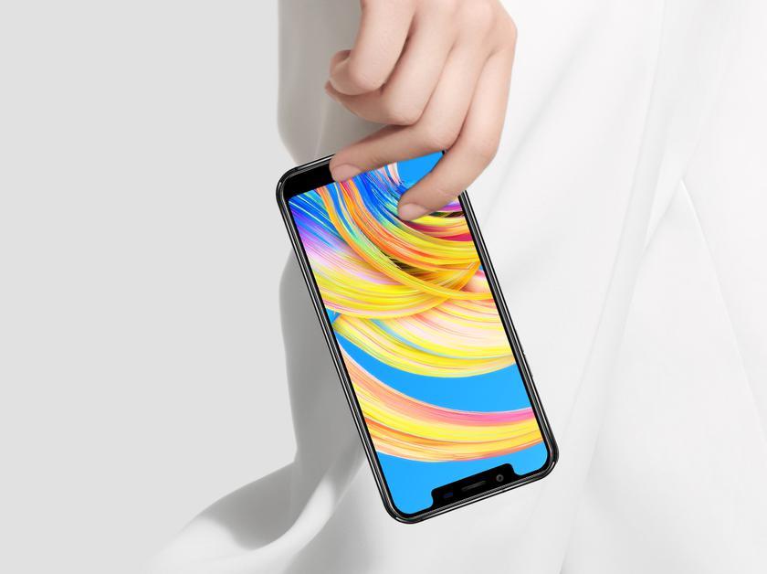 OUKITEL U18 : жгучая смесь iPhone X и Huawei Mate 10 Pro Huawei  - e27ea114f0ab162ec2509e3bbeeb302f
