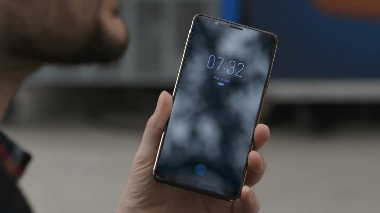 CES 2018: Показан первый гаджет со сканером отпечатка внутри дисплея Другие устройства  - img_0422-1.-750