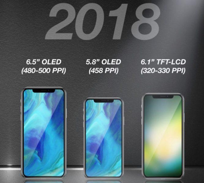Apple прекратит выпуск iPhone X из-за низкого спроса на рынке Apple  - iphone_2018_pic