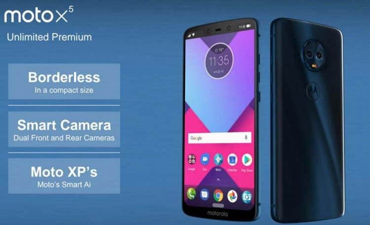 Motorola настраивается на скорый релиз Moto X5 в стиле iPhone X Другие устройства  - moto-x5.-750