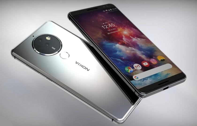 Красивый концепт Nokia 10 с необычной камерой, плюс видео Другие устройства  - nokia-10-concept