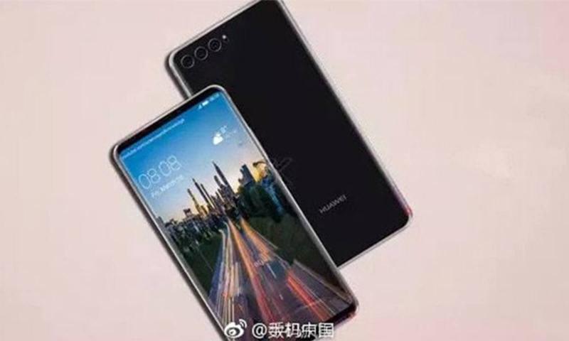 Рендеры нового Huawei P20 с тремя камерами Huawei  - p20