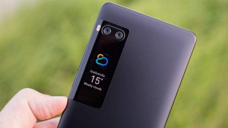 Samsung хочет развать основную идею YotaPhone и Meizu Pro 7 Samsung  - pro7.-750