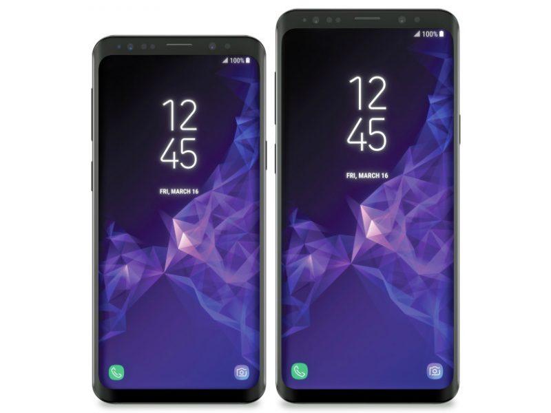 Новые рендеры Samsung Galaxy S9. Финальный дизайн Samsung  - s9-1