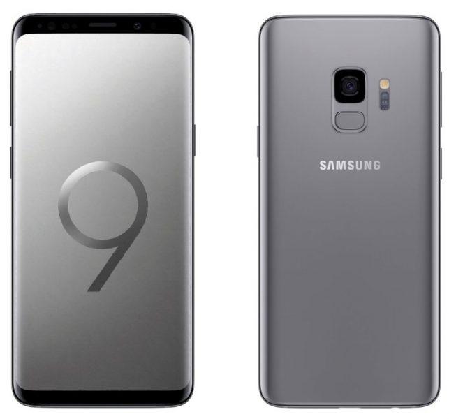 Samsung Galaxy S9 и S9+: Нужно больше рендеров Samsung  - 4-galaxy-s9-silver-color-leaked-render.-750