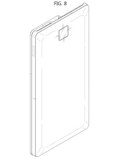 Samsung запатентовал необычный слайдер с двумя экранами Samsung  - Samsung-Patent-Sliding-Display-Phone-20-400x508