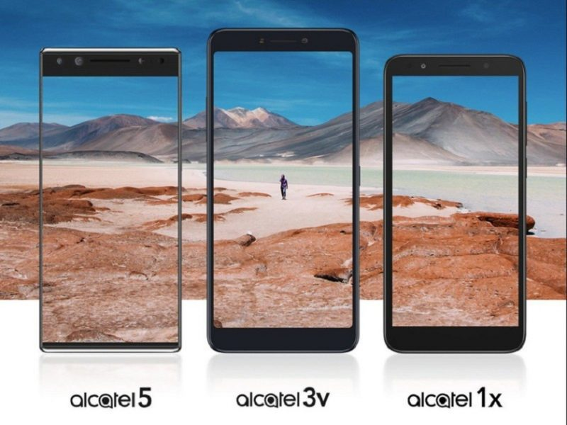 Alcatel представит смартфоны 5, 3v и 1× уже 24 февраля Другие устройства  - alcatel-5-3v-1x-mwc-hero