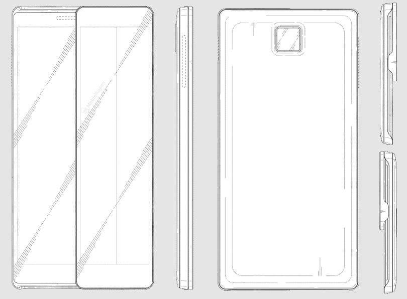 Samsung запатентовал необычный слайдер с двумя экранами Samsung  - all-sides-1