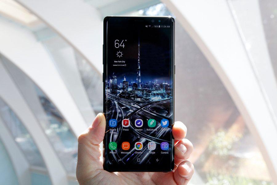Лучшие смартфоны по характеристикам за 2017 год, не взирая на цены Гаджеты  - bgr-galaxy-note-8-1
