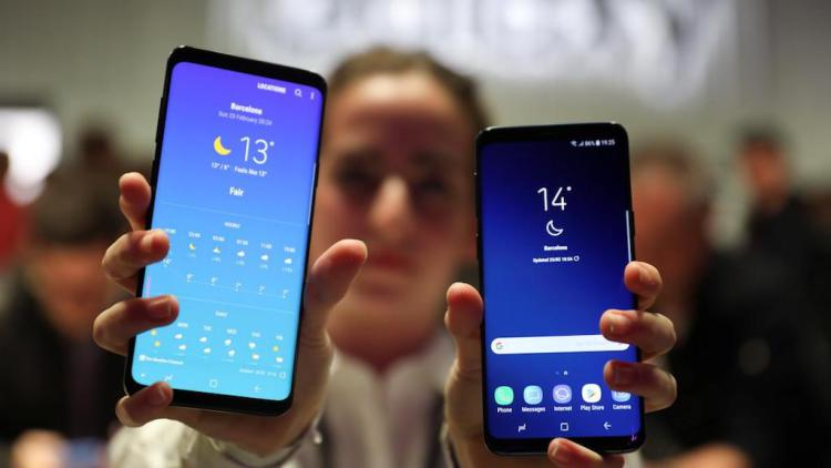 Samsung Galaxy S9: подробности о корпусе и аккумуляторе Samsung  - galaxy.-750