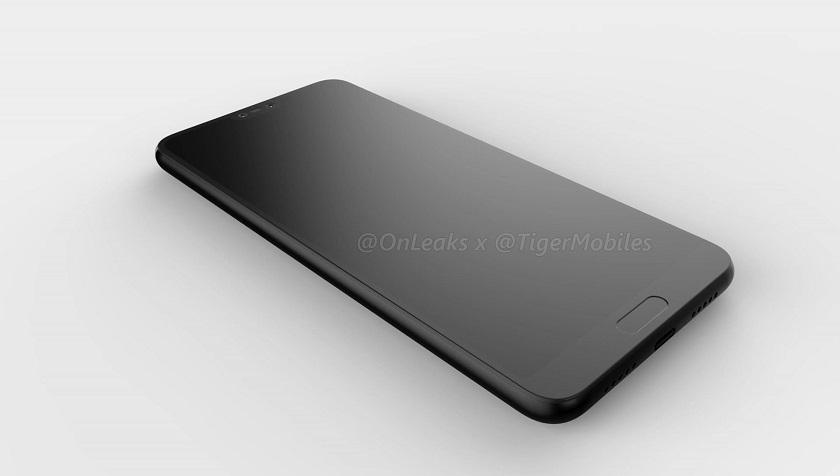 3D-рендеры флагмана Huawei P20 Другие устройства  - huawei-p20