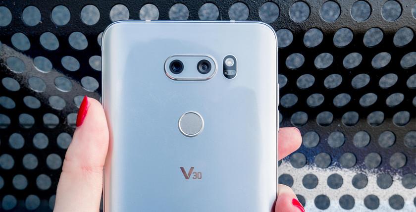 LG V30s с необычной камерой выйдет почти вместе с Galaxy S9 LG  - lg-v30s-mwc-release-lg-lens-ai-2