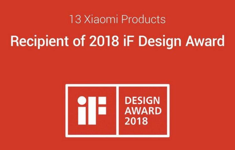 Xiaomi наградили престижной наградой за дизайн смартфонов Xiaomi  - mi.-750