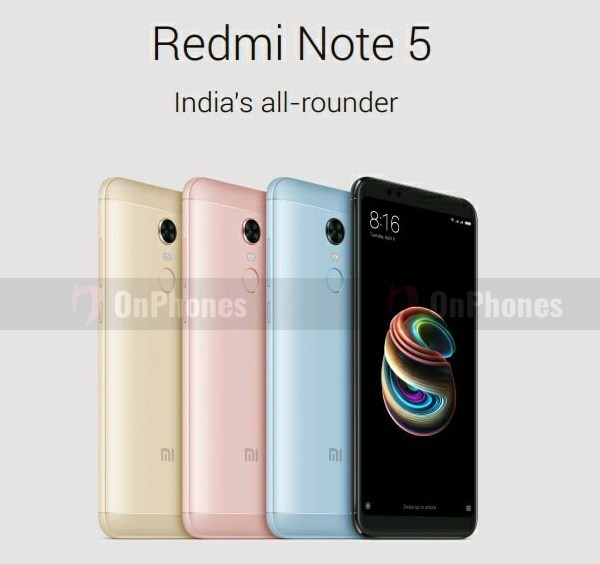 Xiaomi Redmi Note 5 и 5 Pro: Свежие рендеры и характеристики Xiaomi - redmi_note_5_poster_01
