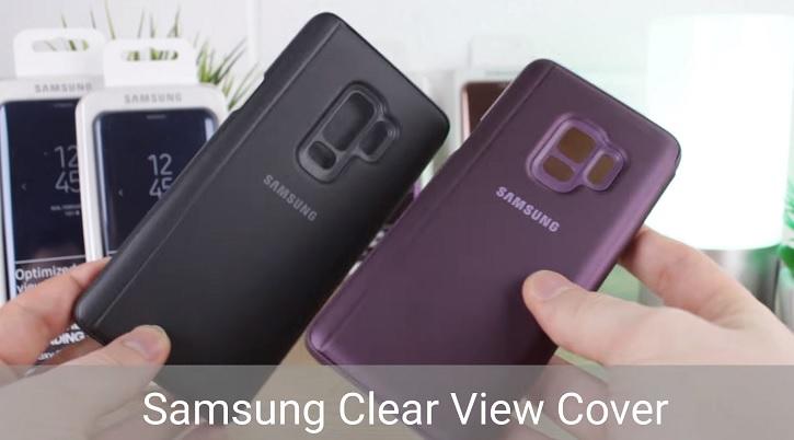 Официальные чехлы для Samsung Galaxy S9 и Galaxy S9+ Samsung  - samsung_galaxy_s9_case
