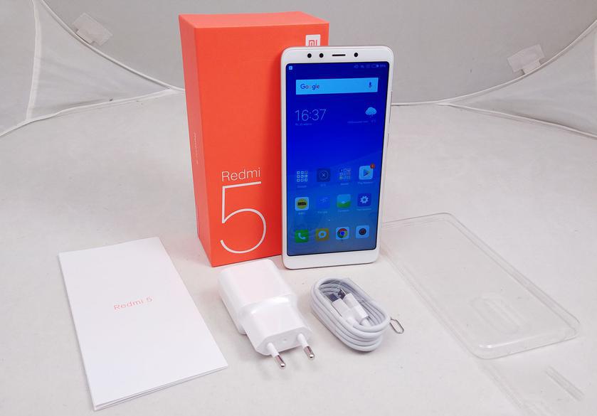 Обзор Xiaomi Redmi 5: популярный бюджетный смартфон Xiaomi  - a30f2f01cc54837ec781daee3a38b777