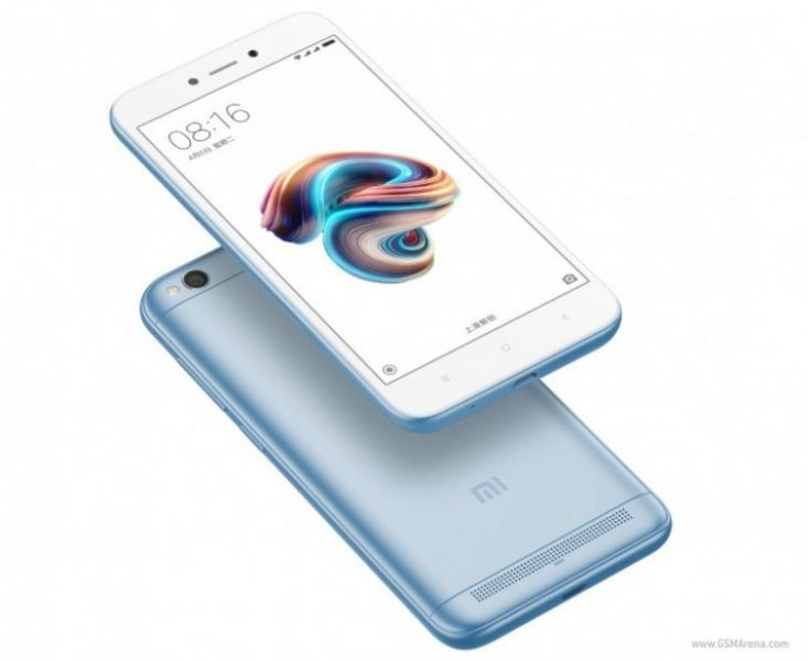 В Индии стал доступен Xiaomi Redmi 5A в голубой расцветке Xiaomi  - gsmarena_003_005