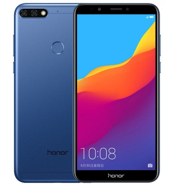 Huawei Honor 7C: смартфон с двойной камерой и экраном FullView Huawei - honor1