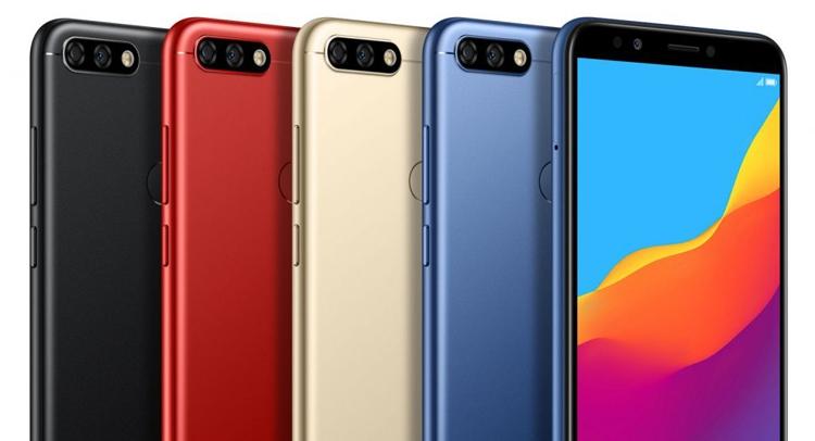 Huawei Honor 7C: смартфон с двойной камерой и экраном FullView Huawei - honor2