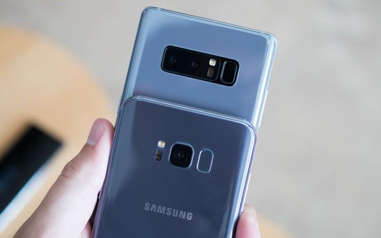 Samsung научит мобильные гаджеты с одной камерой снимать портретные фото Samsung  - note8.-750