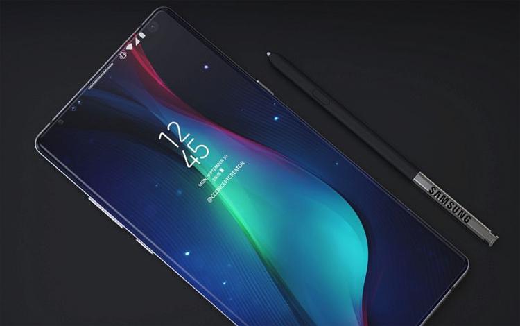 В Samsung Galaxy Note 9 будет больше ёмкости батареи, чем в предшественнике Samsung  - sam1