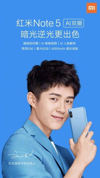 Xiaomi Redmi Note 5 был моментально весь распродан за секунды Xiaomi  - skrinshot-22-03-2018-183630