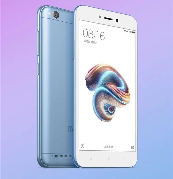 В Индии стал доступен Xiaomi Redmi 5A в голубой расцветке Xiaomi  - xiaomi_redmi_note_5a_1