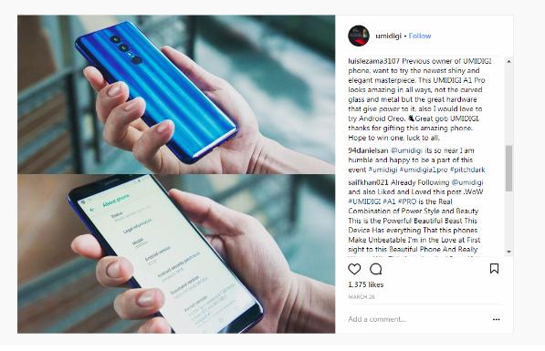 Старт продаж нового UMIDIGI A1 Pro и сниженная цена всем желающим Другие устройства  - Snimok_ekrana_2018-04-09_v_22.54.29