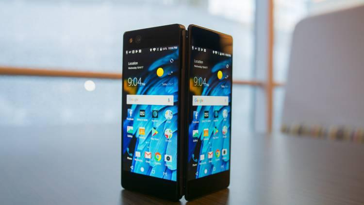 Складной Samsung Galaxy X вероятно будет с тремя дисплеями Samsung  - axonm-1.-750