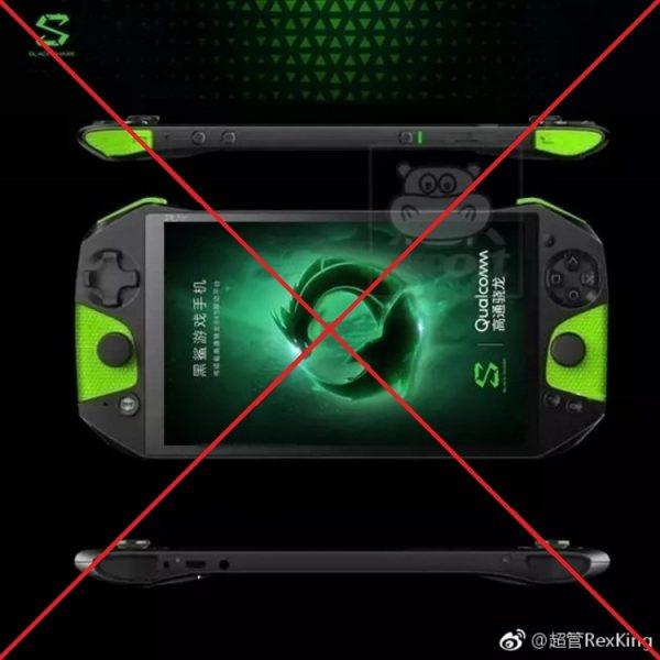 Фейковый снимок Xiaomi Blackshark превратил игровой смартфон в портативную консоль Xiaomi  - black-shark-xi
