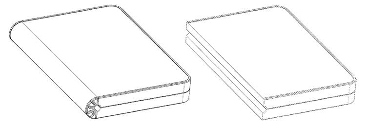 Huawei хочет выпустить смартфон-книжку Huawei  - book1