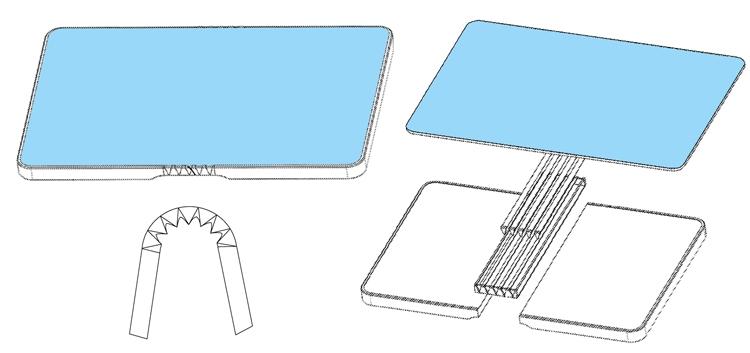 Huawei хочет выпустить смартфон-книжку Huawei  - book2