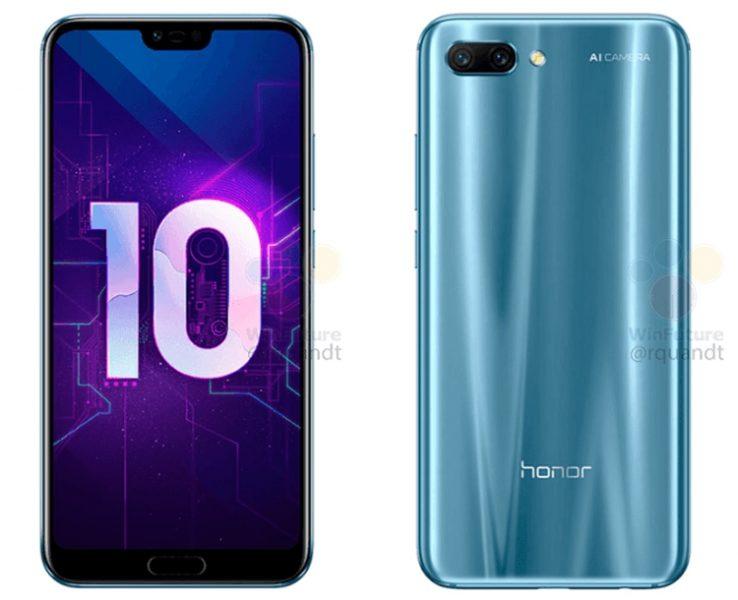 Мощный Huawei Honor 10 раскрыл своё лицо Huawei  - hh2