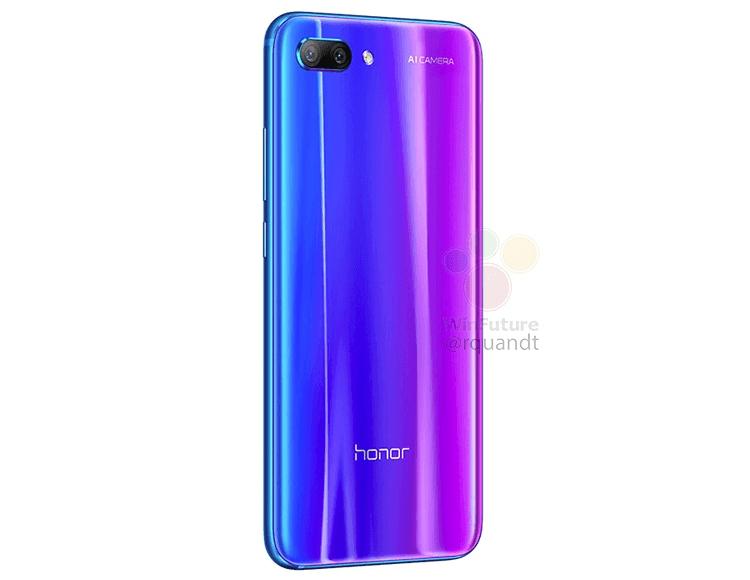 Мощный Huawei Honor 10 раскрыл своё лицо Huawei  - hh4