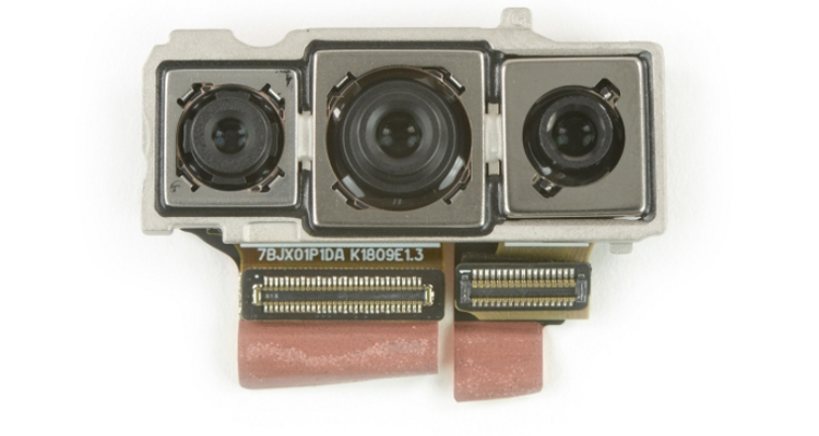 Вскрытие нового Huawei P20 Pro: что скрывает флагман? Huawei  - hu2