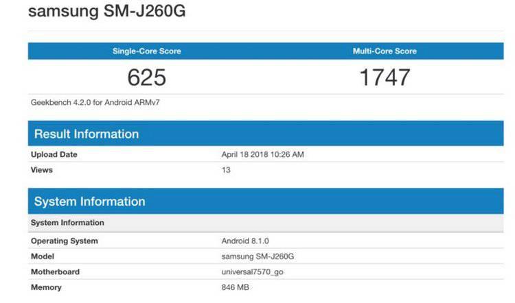 Samsung готовит свой первый гаджет на операционке Android Go Samsung  - j2core.-750