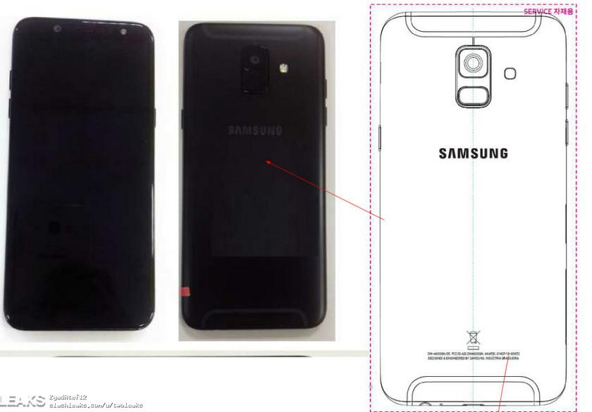 Живые снимки Samsung Galaxy A6+ (2018): дизайн смартфона Samsung  - samsung-galaxy-a6-leak