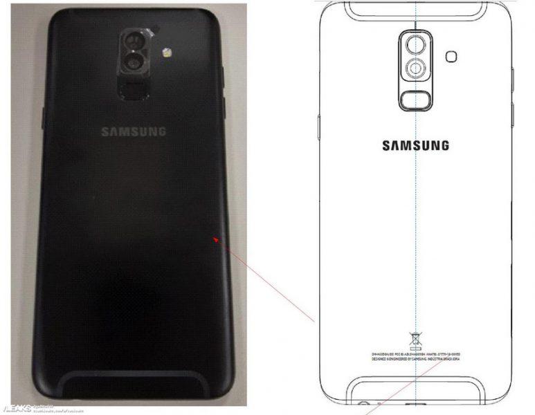 Живые снимки Samsung Galaxy A6+ (2018): дизайн смартфона Samsung  - samsung-galaxy-a6plus-m