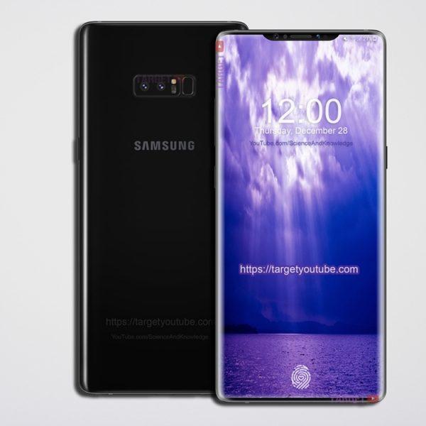 Samsung может выпустить новый Galaxy с вырезом в дисплее Samsung  - sg2