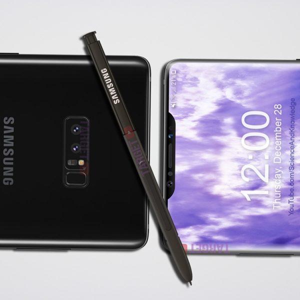 Samsung может выпустить новый Galaxy с вырезом в дисплее Samsung  - sg4