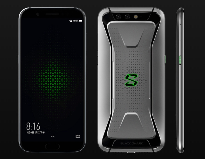Xiaomi Black Shark Gaming Phone. Игровой смартфон за $477 Xiaomi  - sm.Xiaomi-Black-Shark-gaming-smartphone-7.750