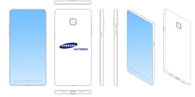 Как Samsung называет свой новый гаджет Galaxy S10? Samsung  - 3_Samsung-patents.-750
