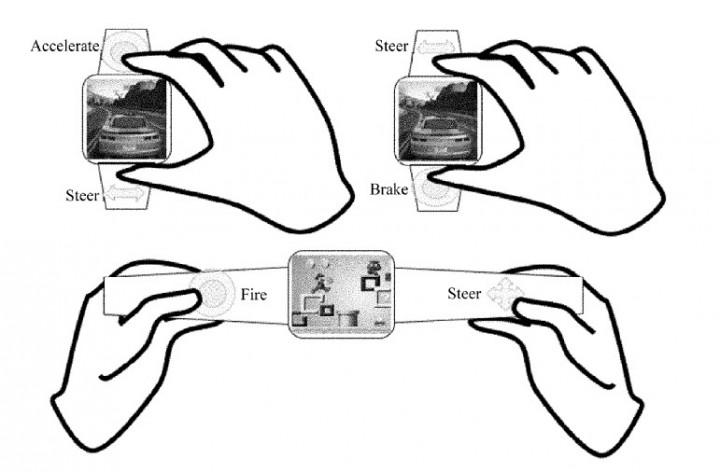 Huawei патентует смарт-часы. Игровые смарт-часы. Huawei  - 7jhkjh