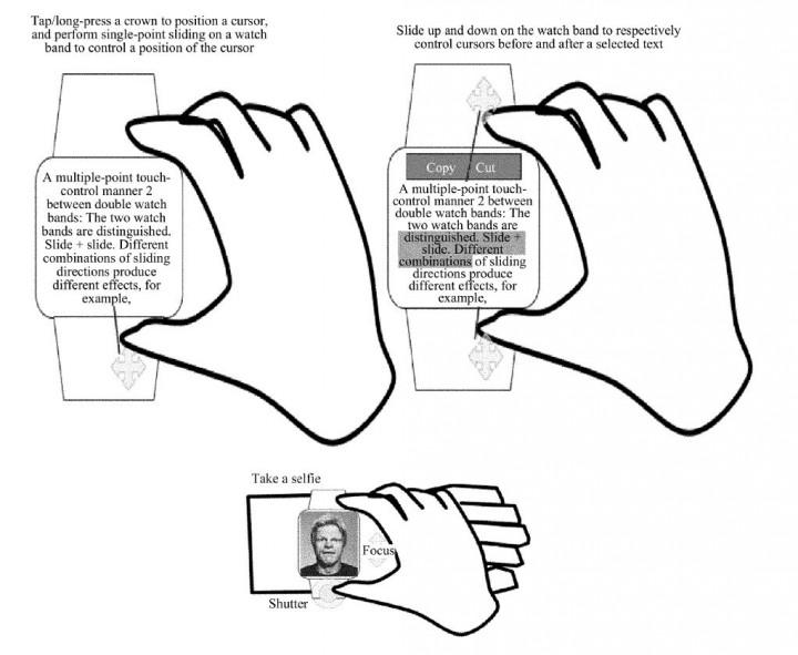 Huawei патентует смарт-часы. Игровые смарт-часы. Huawei  - 8kjkj