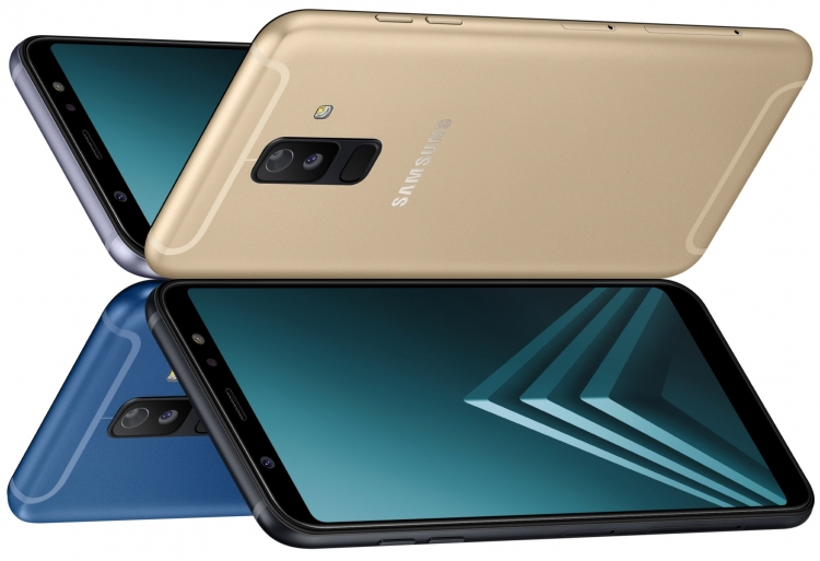 Состоялся дебют Samsung Galaxy A6 и Galaxy A6+, что известно? Samsung  - sm.A6_Group2_All.750