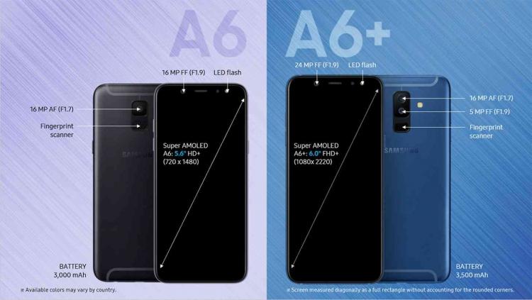 Состоялся дебют Samsung Galaxy A6 и Galaxy A6+, что известно? Samsung  - sm.samsunggalaxya6a6plusfeatures.750