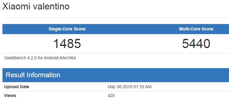 Xiaomi разрабатывает мобильный гаджет Valentino с процессором Snapdragon Xiaomi  - xim1