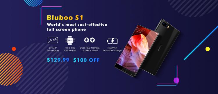 Bluboo S3 со скидкой в $100 на распродаже 12-летия Bluboo Другие устройства  - sm.image005.750