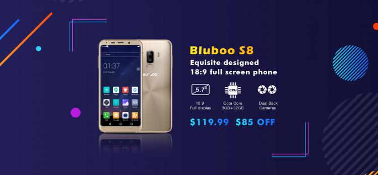 Bluboo S3 со скидкой в $100 на распродаже 12-летия Bluboo Другие устройства  - sm.image007.750